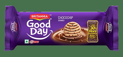 BRITANNIA - GOOD DAY CHOCOCHIP COOKIES- 120 Gms
