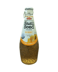 AMERICAN DRINKS - BASIL SEEDS WITH HONEY FLAVOR - 290 ML