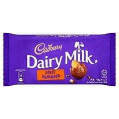 CADBURY - DAIRY MILK ROAST ALMOND WITH WHOLE NUTS - 165 Gms