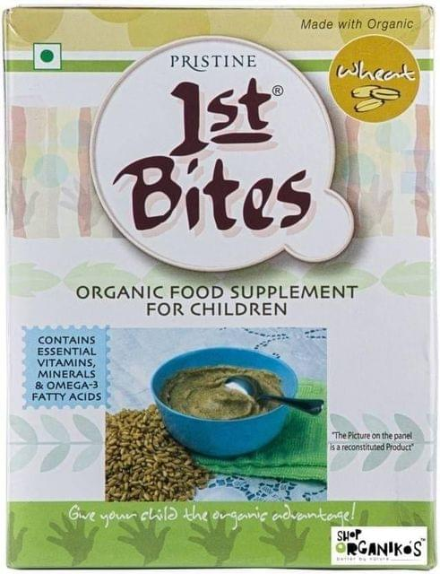 PRISTINE - 1st BITES - BABY CEREAL WITH MILK - WHEAT - 300 Gms