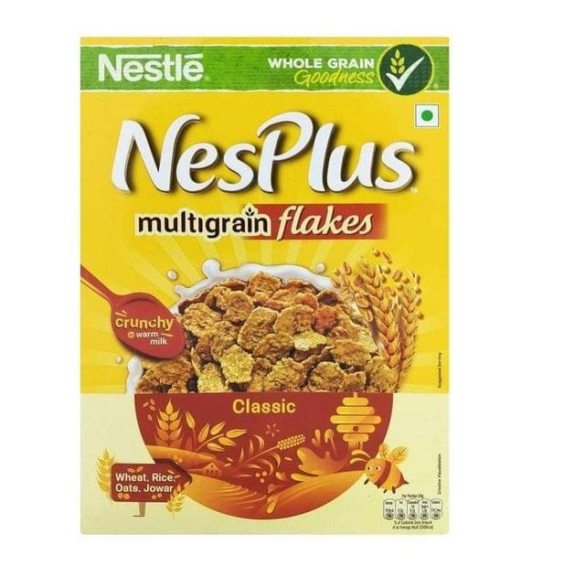 NESTLE - NESPLUS  MULTIGRAIN FLAKES - CLASSIC - 30 Gms