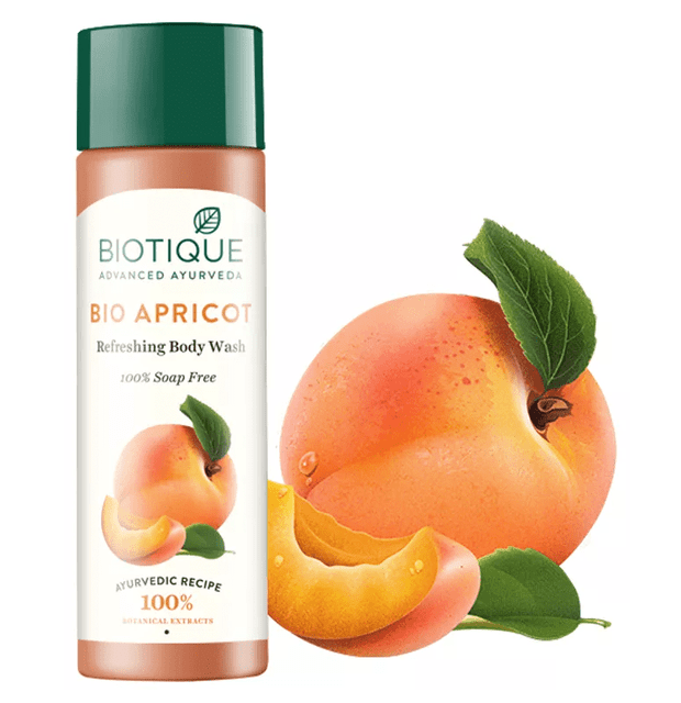BIOTIQUE - BIO APRICOT - REFRESHING BODY WASH - 190 ML