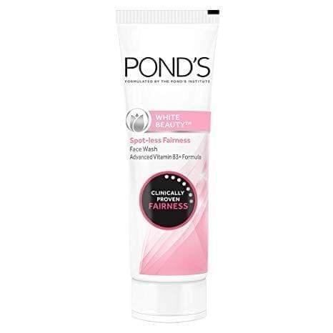 PONDS - WHITE BEAUTY SPOT-LESS FAIRNESS FACE WASH - 100 Gms