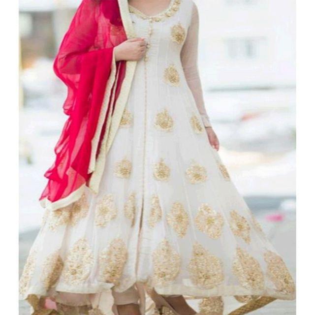 ANARKALI HEAVY DRESS - DRY CLEAN