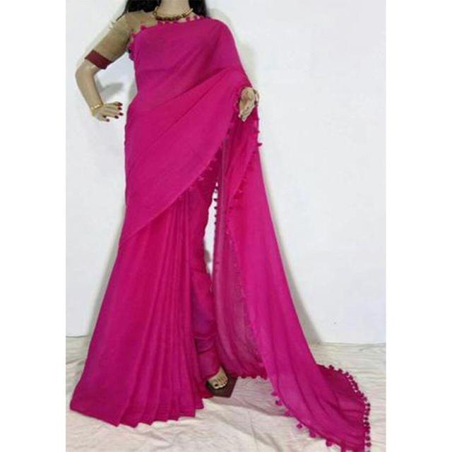 COTTON SAREE - DRY CLEAN