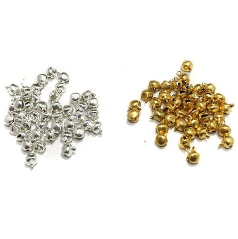 400Pcs Embellishments Golden and Silver 6mm