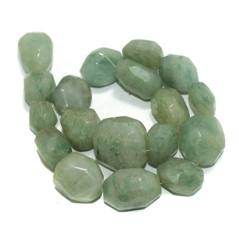 Faceted Tumble Acco Onyx Stone Beads 18-25 mm