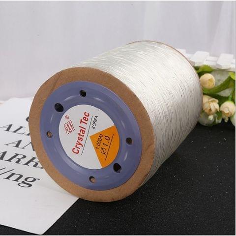 1000 Mtrs Elastic Beading Cord 1mm