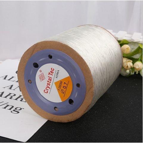 1000 Mtrs Elastic Beading Cord 0.7 mm