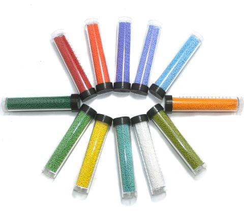 12 Colors Preciosa Seed Beads Combo MultiColor 11`0