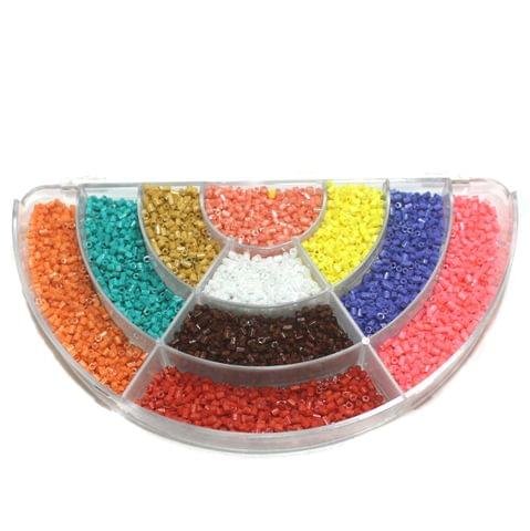 Jewellery Making Mix 2 Cut Seed Beads DIY Kit Multi Color