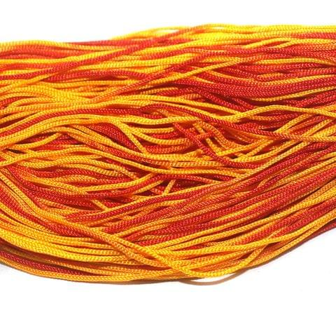 Multi Color Plain Satin Thread 1mm, For Jewellery Making, Craft