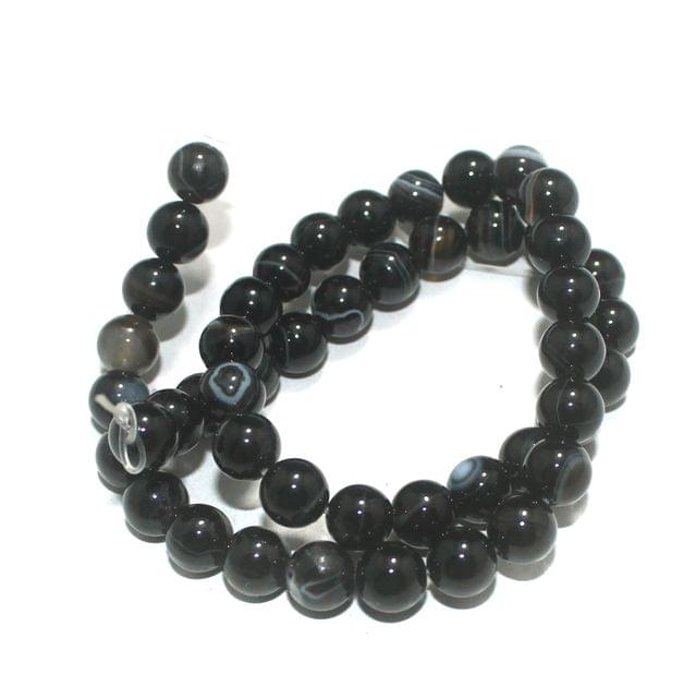 8mm Sulemani Hakik Gemstone Beads 1 String