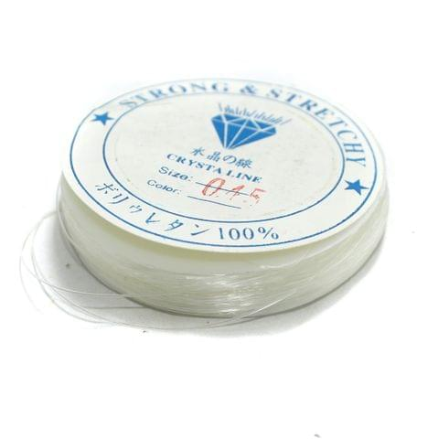 Nylon Thread 100 Mtrs Spool, Size 0.45 mm