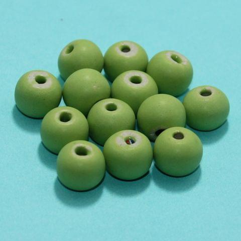 53 Pcs Ceramic Beads Matte Finish Assorted 11x14 mm