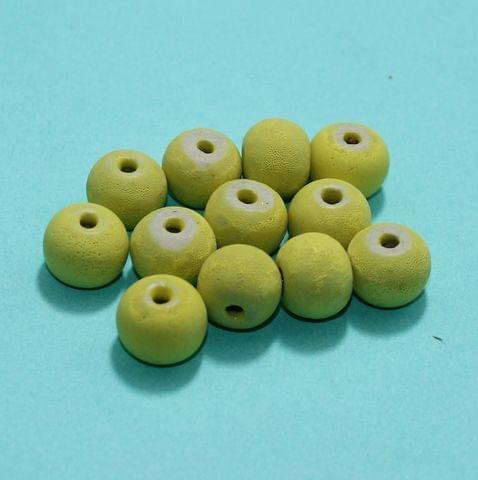 57 Pcs Ceramic Beads Matte Finish Assorted 11x14 mm