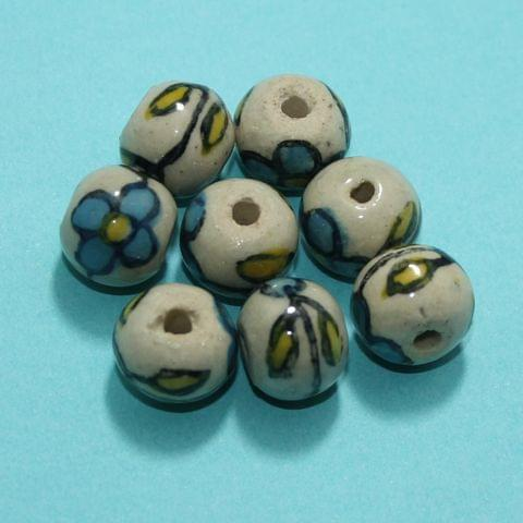 70 Pcs Ceramic Beads Assorted 12x15 mm