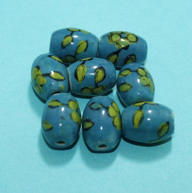 59 Pcs Ceramic Beads Assorted 19x15 mm