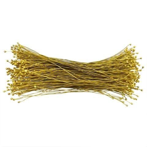 100 Gm Jewellery Fuse Wire Golden, Size 22 Gauge