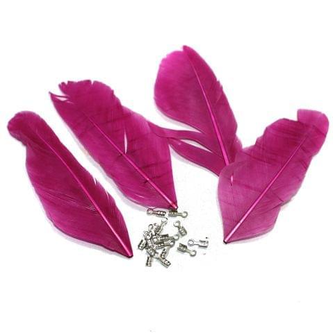 80+ Premium Jewellery Making Feathers Purple