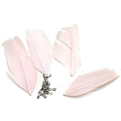 80+ Premium Jewellery Making Feathers Pink