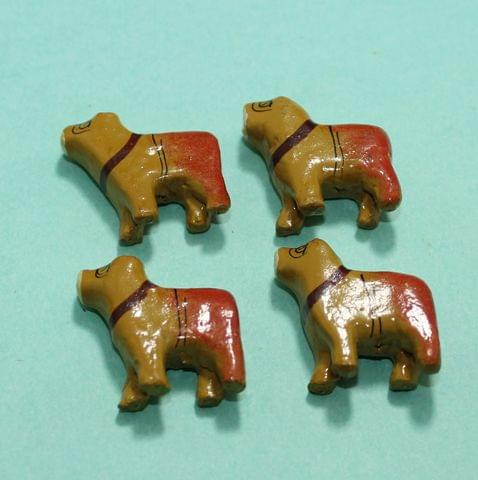 34 Pcs Dogs Wooden Beads,Size 1 Inches