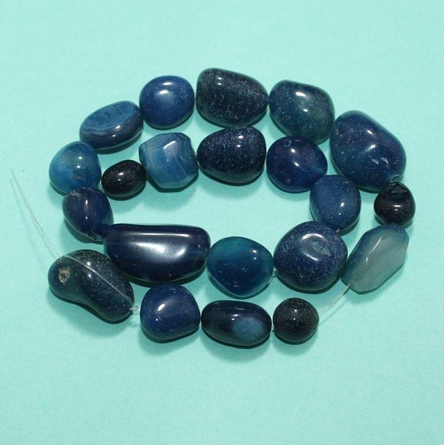 Tumble Turquoise Onyx Stone Beads 15-32 mm