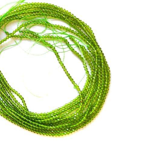 2 mm Hydro Beads Light Green 5 Strands