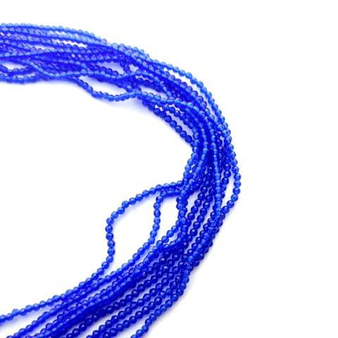 2 mm Hydro Beads Blue 5 Strands