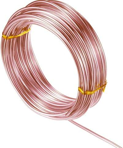 Aluminium Craft Wire Copper 10 Mtrs, Size 2 mm