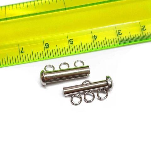 10pcs, 20x12mm, AAA quality silver polish lock
