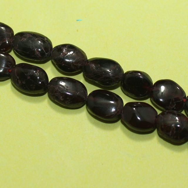 1 Strings Semiprecious Flat Oval Beads  6-11mm