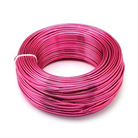 10 Mtrs Aluminium Colored Wire Pink 1mm (18 Gauge)