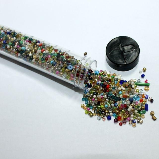 3500 Pcs Multi Color Seed Beads , Size 11/0