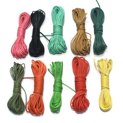 Cotton Cord 1mm Combo Pack Assorted Color