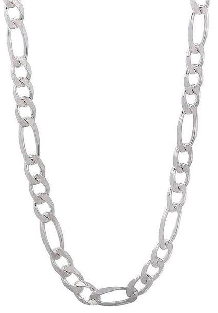 92.5 Sterling Silver 2mm Figaro Chains 40 cms