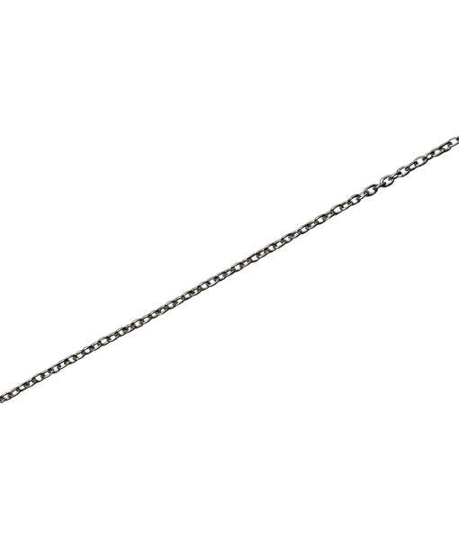 92.5 Sterling Silver Fine Link Chain - 100 cms