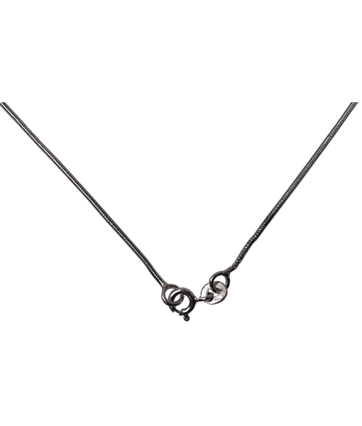 92.5 Sterling Silver Snake Chain - 40 cms