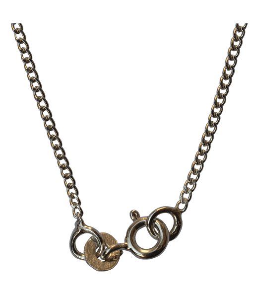 92.5 Sterling Silver Curb Chain - 45 cms