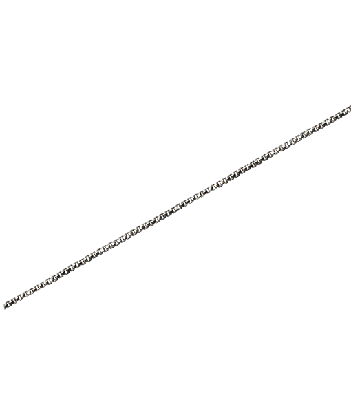 92.5 Sterling Silver Box Chain - 100 cms