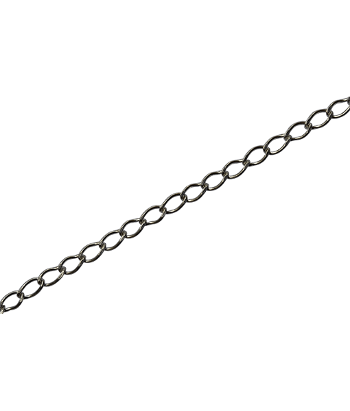 92.5 Sterling Silver Diamond Cut Chain - 100 cms