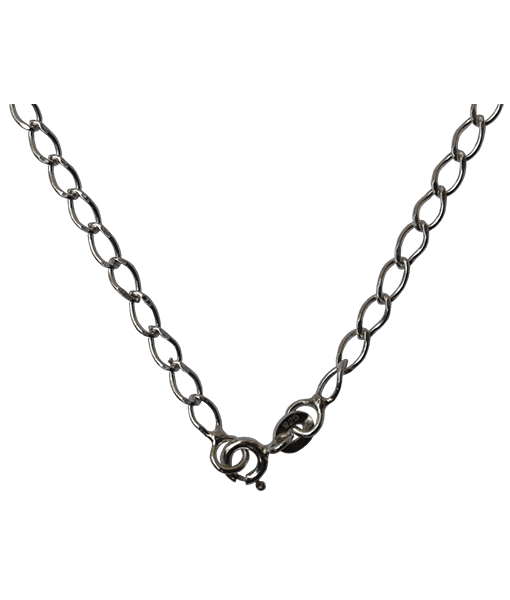 92.5 Sterling Silver Diamond Cut Chain - 40 cms