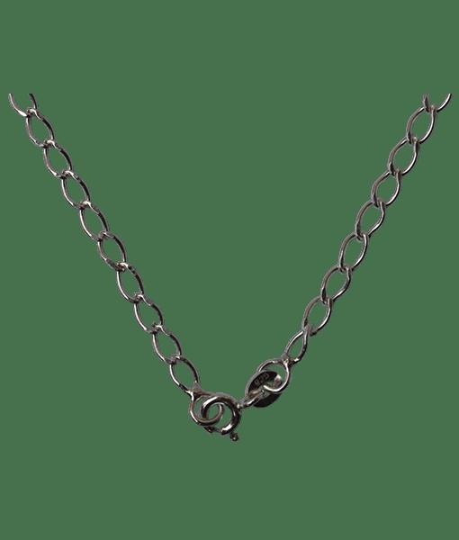 92.5 Sterling Silver Diamond Cut Chain - 45 cms