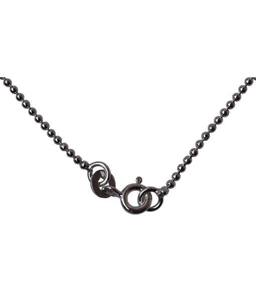 92.5 Sterling Silver 1.25mm Ball Chain-40 Cms