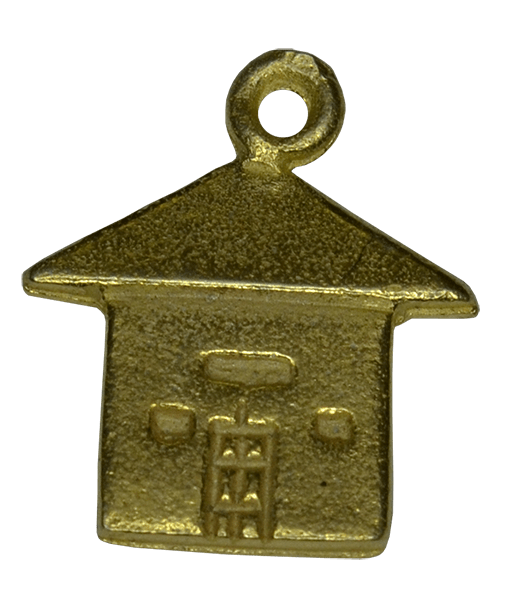 92.5 Sterling Silver House Charm