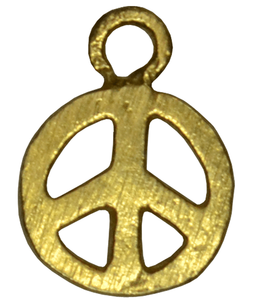 92.5 Sterling Silver Peace Charm