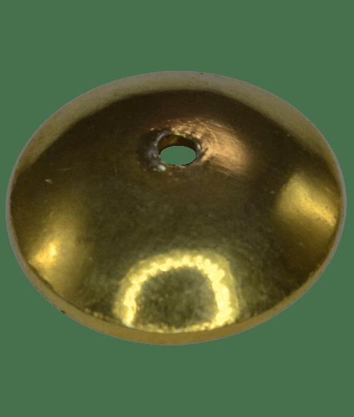 92.5 Sterling Silver 8mm Plain Cap
