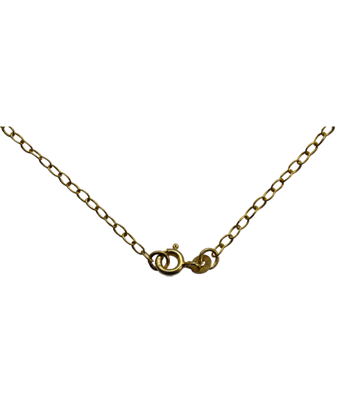 92.5 Sterling Silver Oval Link Chain - 45 cms