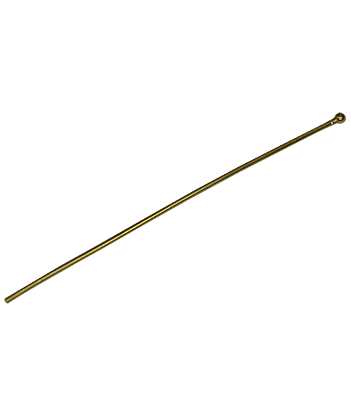 92.5 Sterling Silver 50mm Headpin with Ball