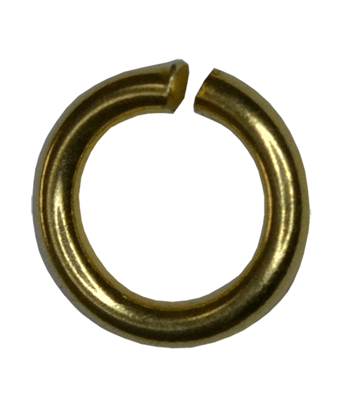 92.5 Sterling Silver 6mm Open Jump Ring